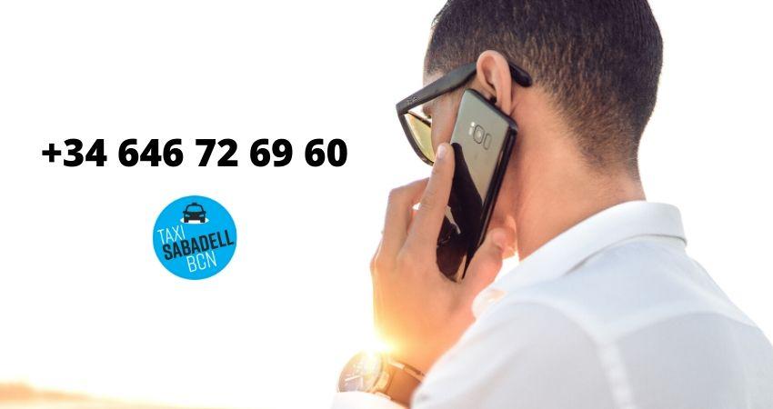 taxi sabadell numero de telefono